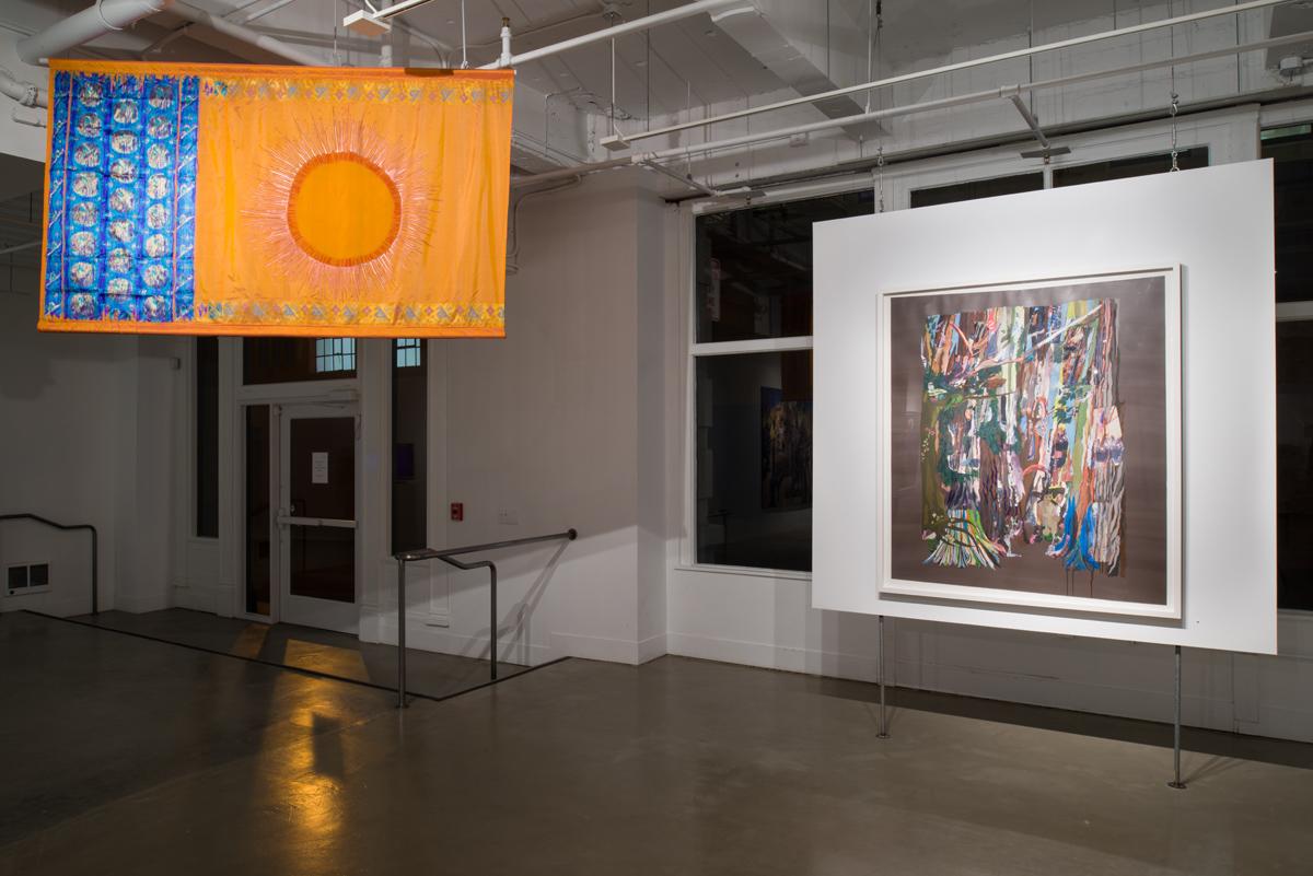 Ranu Mukherjee: Apparitions,  installation view, Gallery Wendi Norris, San Francisco, CA, November 15 – December 21, 2013, Photographer: JKA Photography