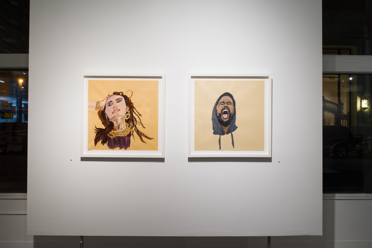 Ranu Mukherjee: Apparitions,  installation view, Gallery Wendi Norris, San Francisco, CA, November 15 – December 21, 2013, Photographer: JKA Photographyy