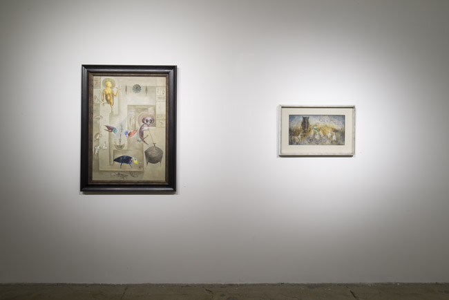 Leonora Carrington: The Celtic Surrealist,  installation view, Gallery Wendi Norris, San Francisco, CA, April 3 — May 31, 2014
