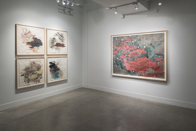 Val Britton: Passage , installation view, Gallery Wendi Norris, San Francisco, CA, June 5 – August 2, 2014, Photographer: JKA Photography