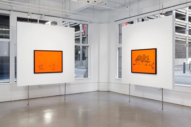 Julio César Morales: Emotional Violence,  installation view, Gallery Wendi Norris, San Francisco, CA, November 5, 2015 — January 22, 2016, photography: John Janca