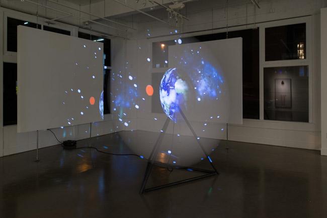 Eva Schlegel: Solo Exhibition , installation view, Gallery Wendi Norris, San Francisco, CA, November 6 — December 20, 2014, Photographer: JKA Photography