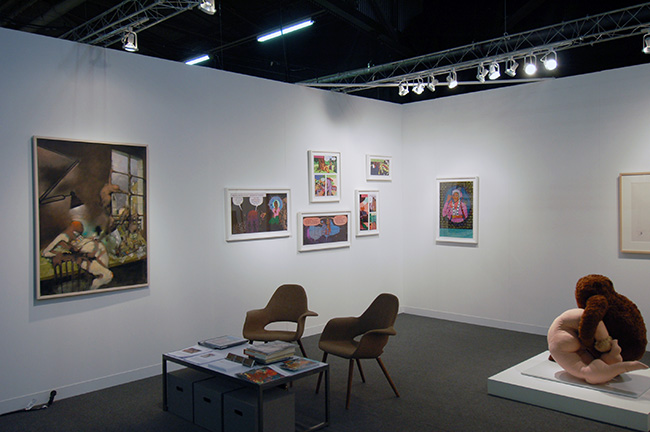 The Armory Show 2013,  installation view, Pier 92 & 94, Twelfth Avenue at 55th Street, New York City, Booth 912, March 7 – 10, 2013