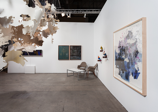 EXPO Chicago 2015 , installation view, Navy Pier, Chicago, IL, Booth 642, September 17 - 20, 2015