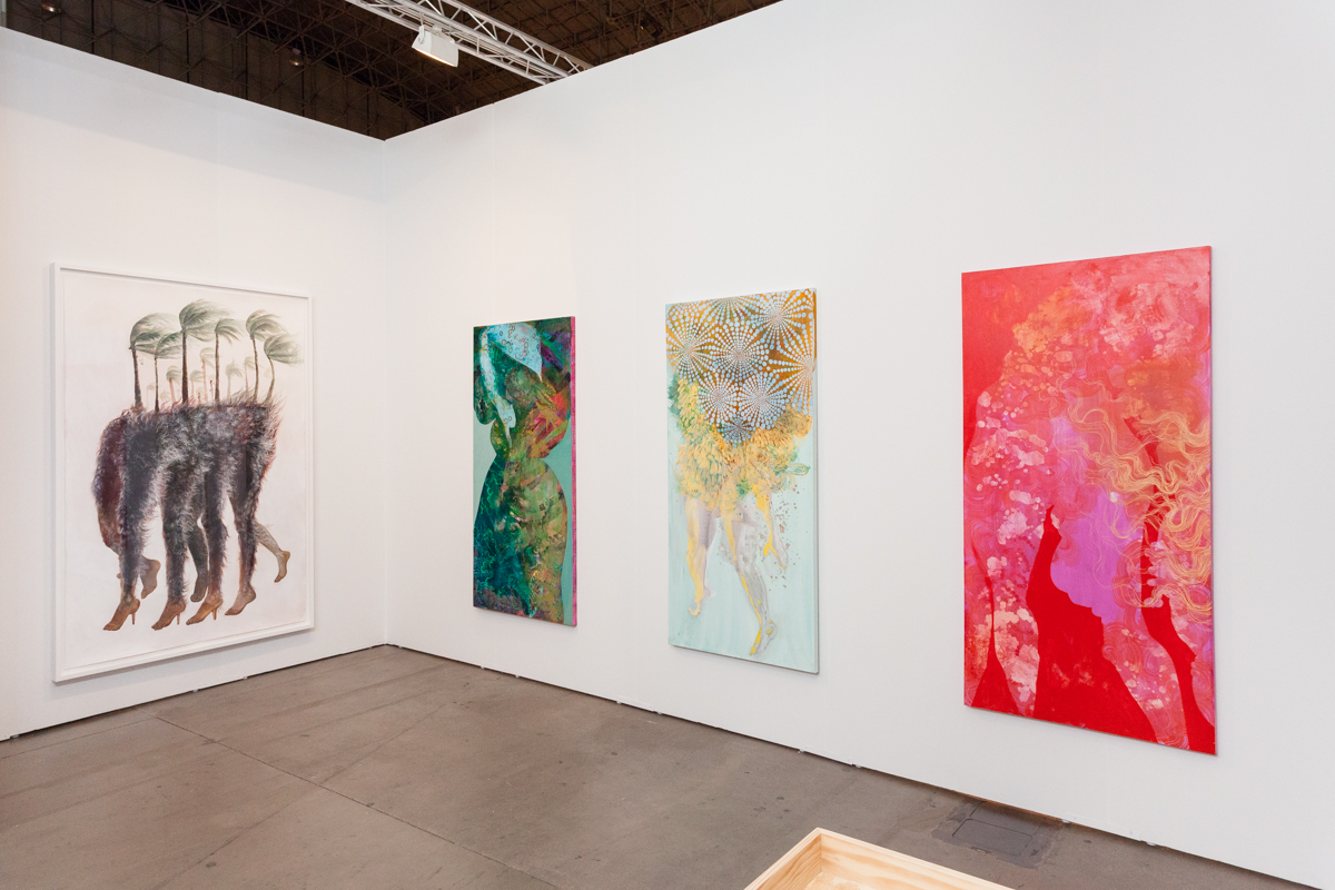 EXPO Chicago 2016 , installation view, Navy Pier, Chicago, IL, Booth 545, September 22 - 25, 2016