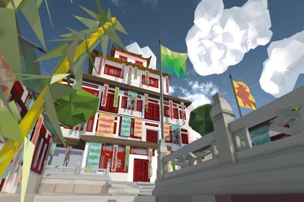 A still from Shezad Dawood's virtual reality tour, 'Kalimpong'. Photo: Shezad Dawood