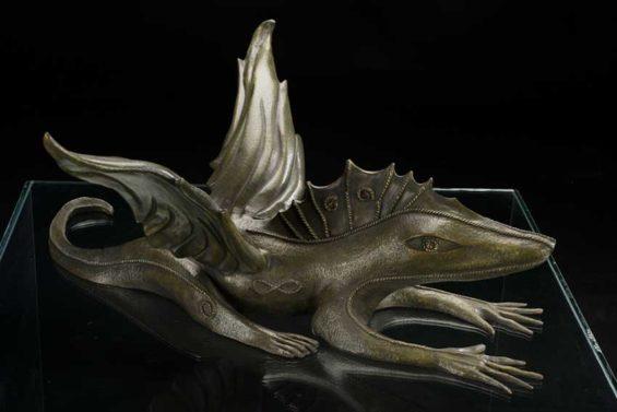 'Camaleón:' another bronze.