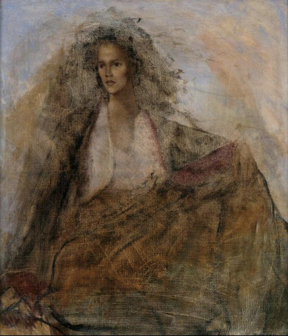 "Leonor Fini, ""Portrait of Leonora Carrington"" (1939)  Photo: © Richard Overstreet and the Estate of Leonor Fini, Paris"
