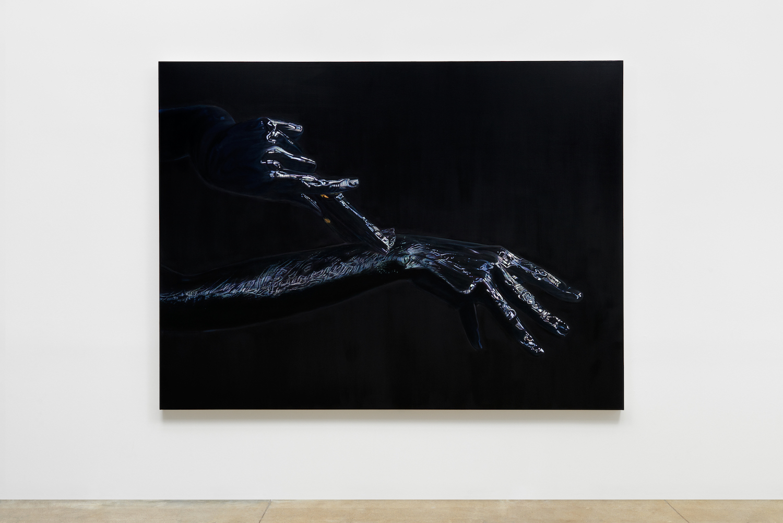 Ana Teresa Fernández,  Erasure,  installation view, Gallery Wendi Norris, San Francisco, 2016,   Photographer: John Janca