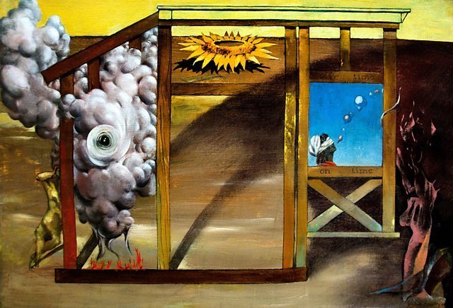 On Time Off Time, Dorothea Tanning, 1948 | Photo: Peter Horree/Alamy Stock Photo