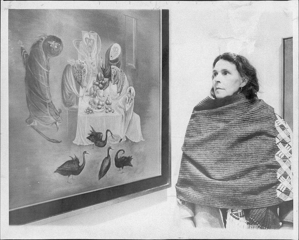 Leonora Carrington CREDIT: GETTY
