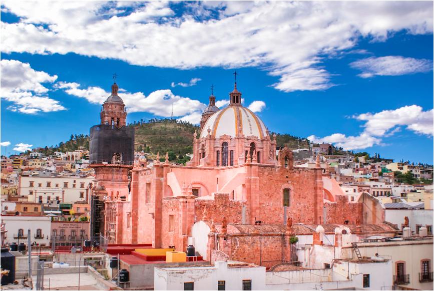 Zacatecas CREDIT: GETTY