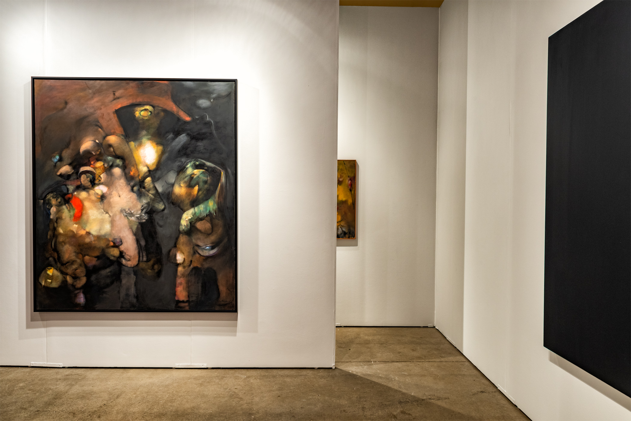 EXPO Chicago 2018,  installation view, Navy Pier, 600 E Grand Ave, Chicago, IL 60611, Booth 400, September 27 - 30, 2018