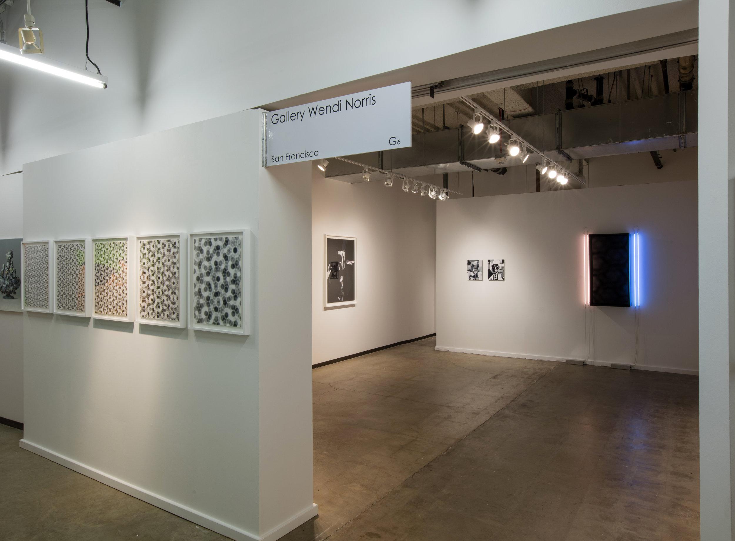 Dallas Art Fair 2016,  installation view, Fashion Industry Gallery, 1807 Ross Avenue, Dallas, TX, April 14 - 17, 2016