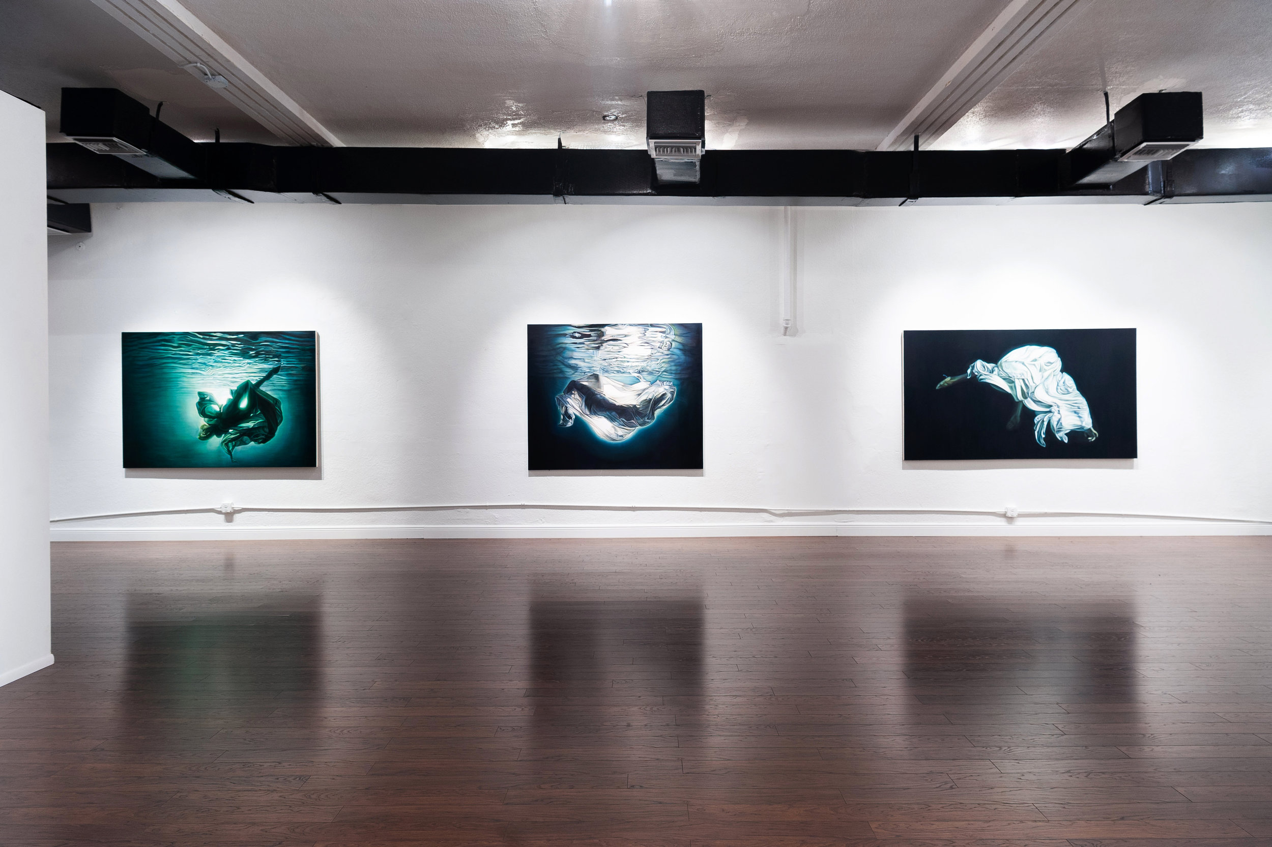 Ana Teresa Fernández: Of Bodies and Borders , installation view, Gallery Wendi Norris Offsite, 6391 NW Second Avenue, Miami, FL, November 2 - December 8, 2018, photography: Sergi Alexander / Eyeworks Production