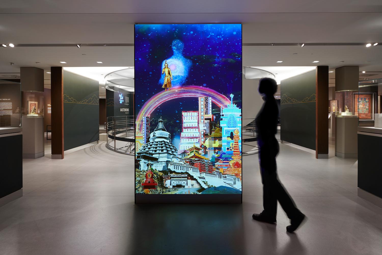 Chitra Ganesh: Scorpion Gesture,  installation view, The Rubin Museum of Art, New York, NY, February 2 — January 7, 2019