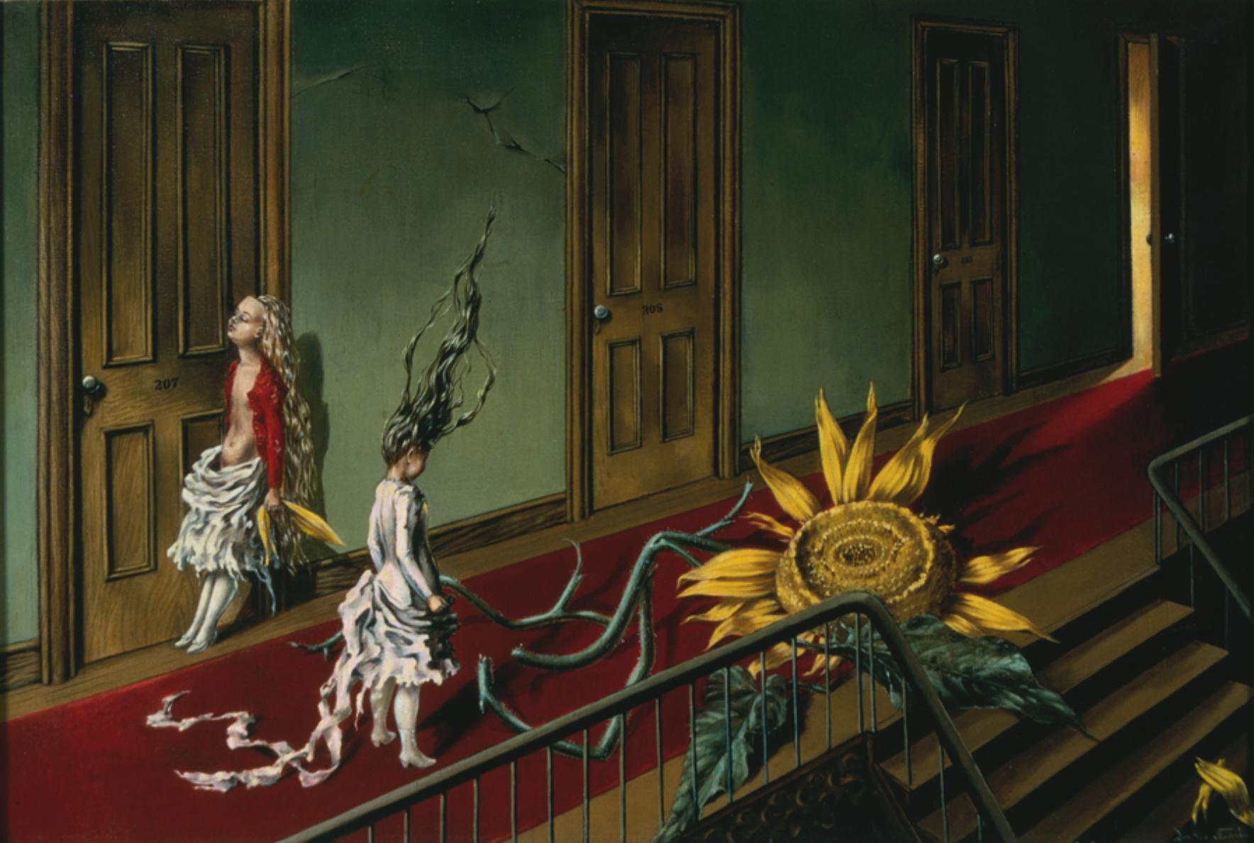 Dorothea Tanning (1910 – 2012) Eine Kleine Nachtmusik 1943 CREDIT: TATE GALLERY