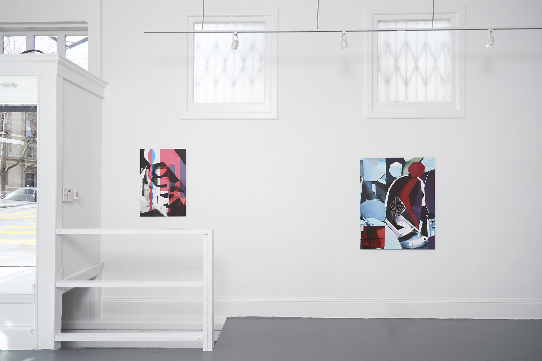 Yamini Nayar, 'If stone could give,' installation view, Gallery Wendi Norris Offsite, 3344 24th Street, San Francisco.  (Photo: John Wilson White / Studio Phocasso)