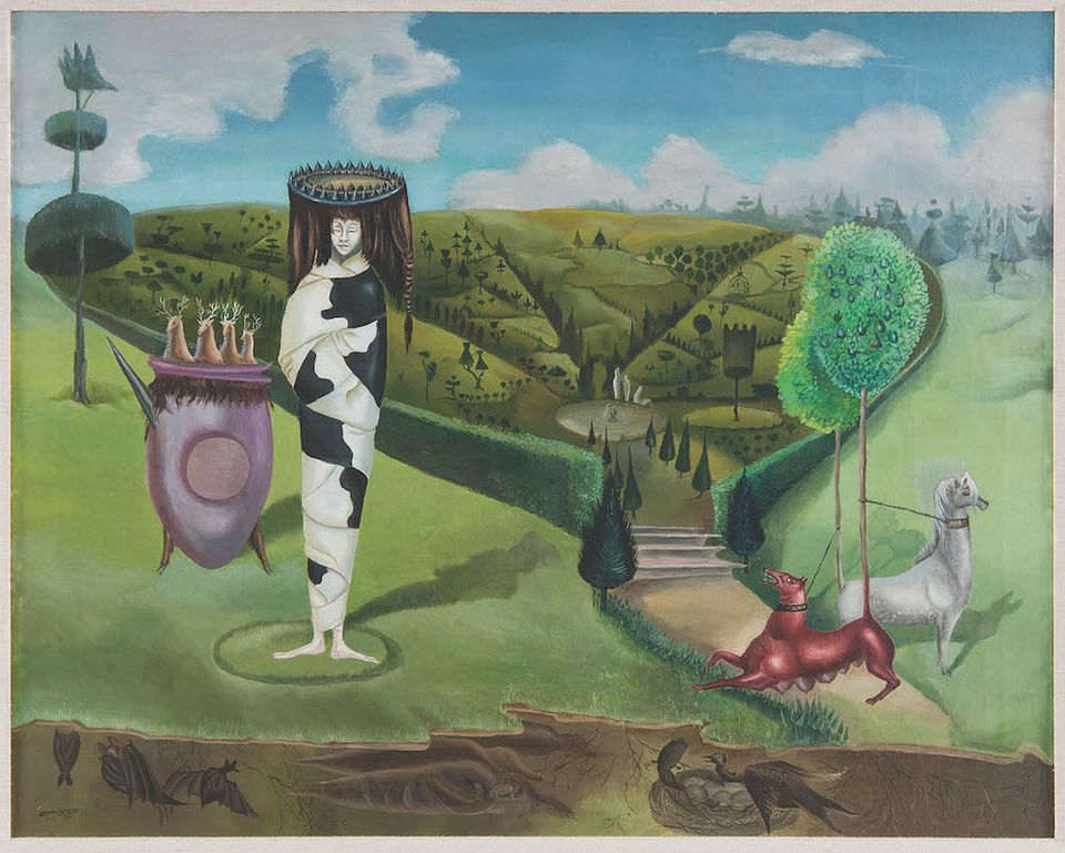Leonora Carrington, Green Tea (La Dame Ovale, 1942) Courtesy of Wendi Norris San Francisco
