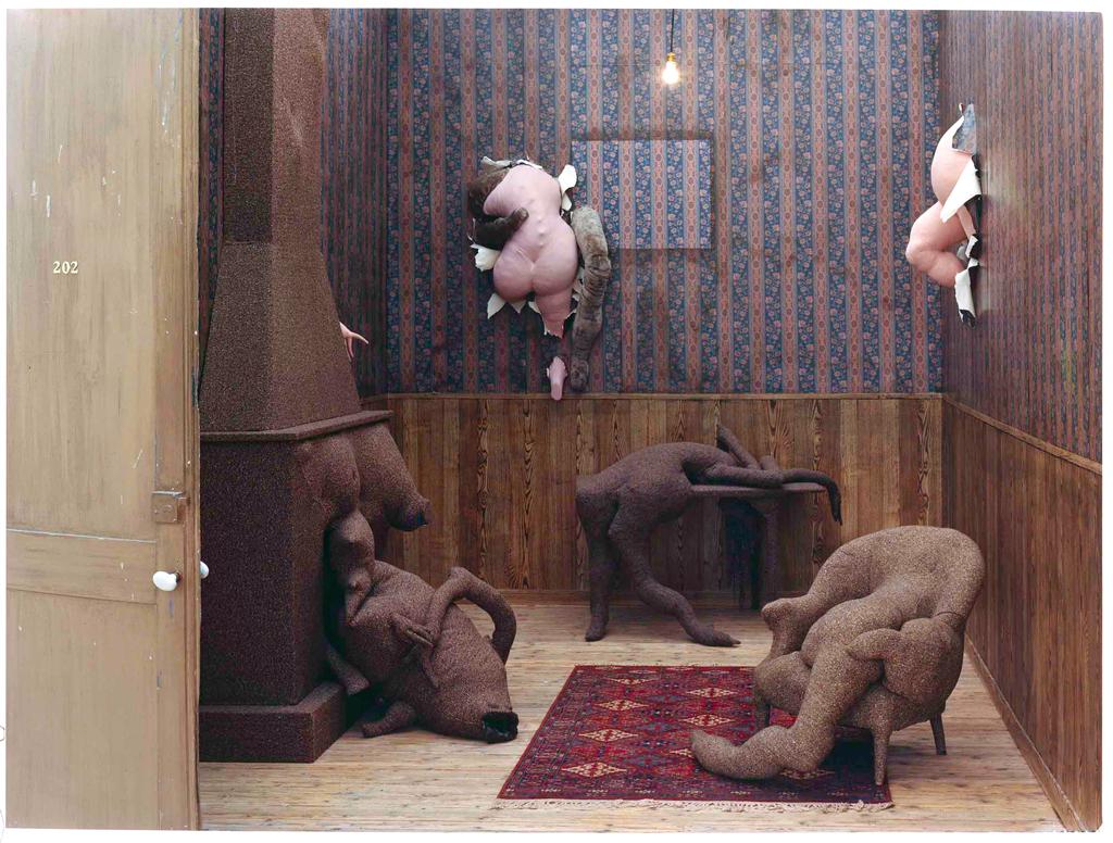 Dorothea Tanning,  Chambre 202, Hôtel du Payot , 1970–73.  CENTRE POMPIDOU, PARIS