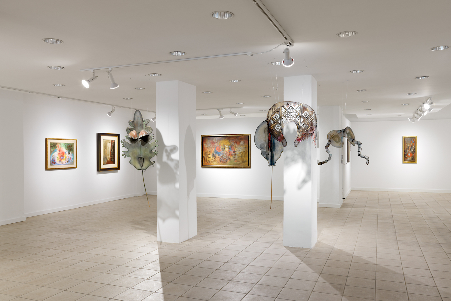 Leonora Carrington: The Story of the Last Egg,  installation view, Gallery Wendi Norris Offsite, 926 Madison Avenue, New York, NY, May 23 — June 29, 2019, photography:Dan Bradica