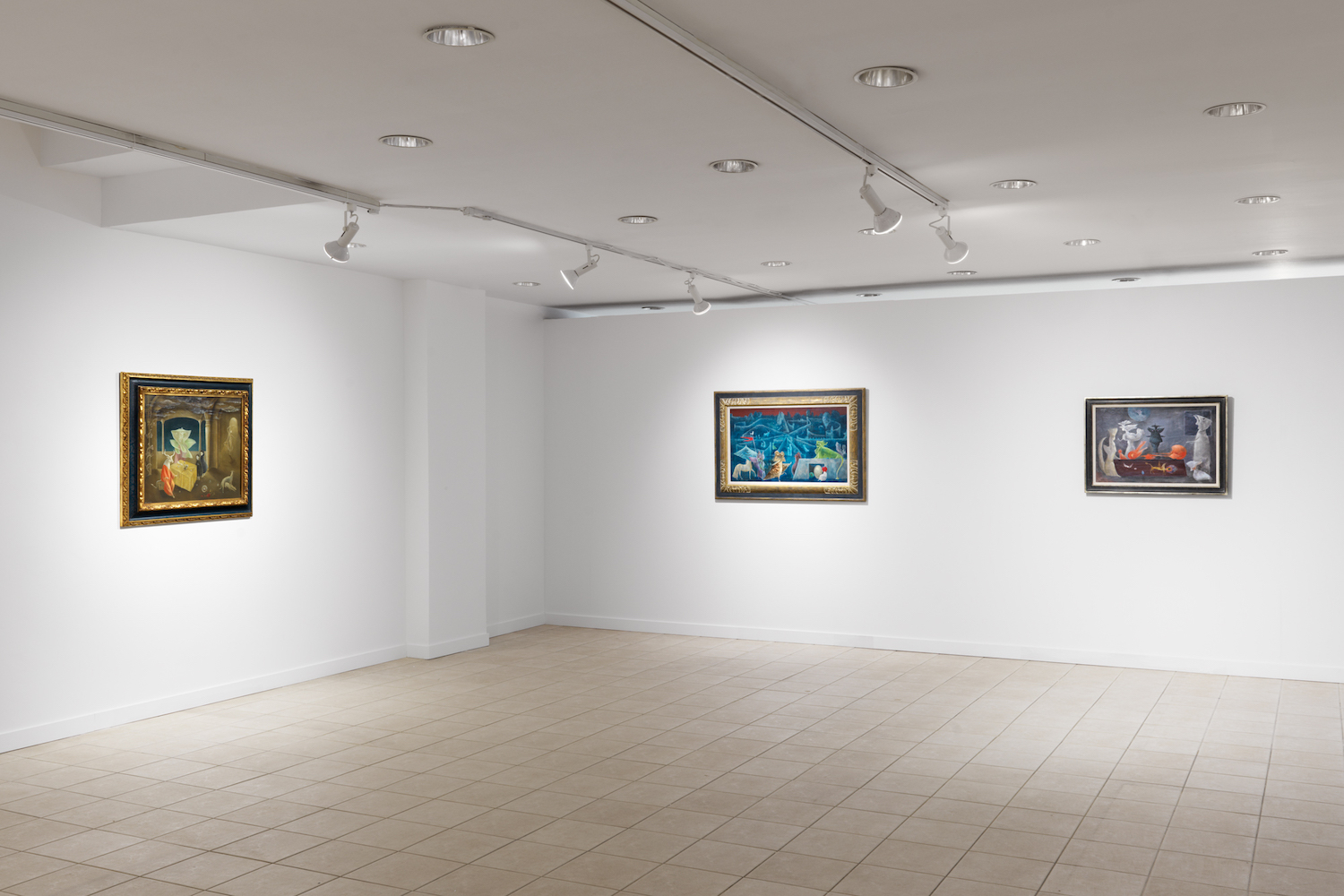 Leonora Carrington: The Story of the Last Egg,  installation view, Gallery Wendi Norris Offsite, 926 Madison Avenue, New York, NY, May 23 — June 29, 2019, photography: Dan Bradica
