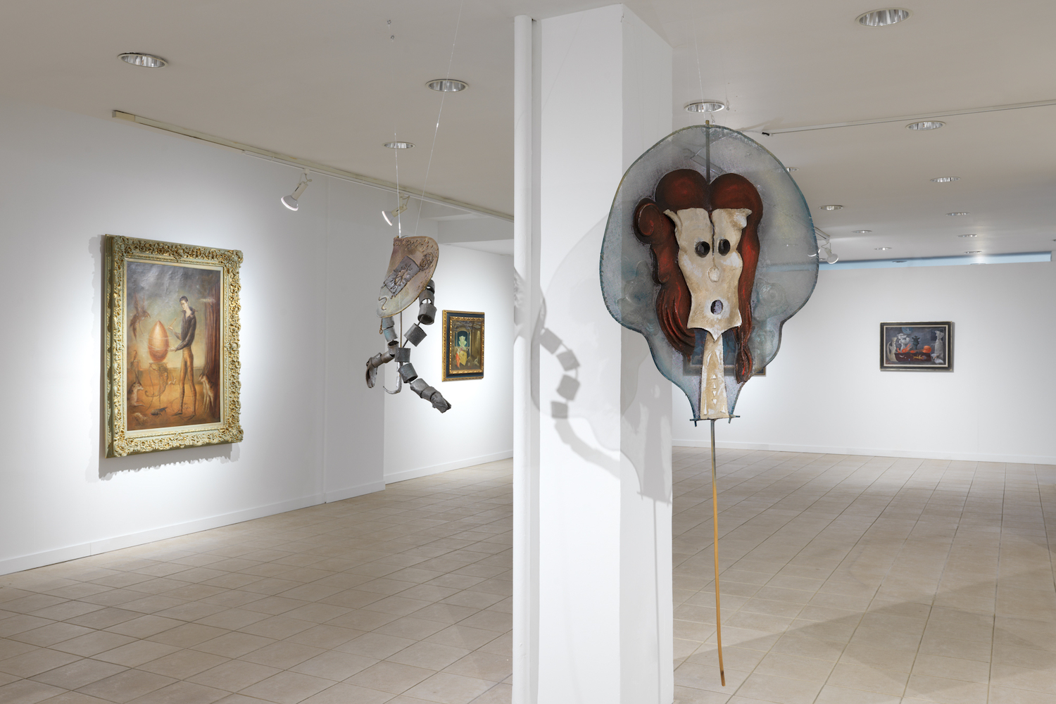 "Installation view of ""Leonora Carrington: The Story of the Last Egg,"" a Gallery Wendi Norris offsite exhibition at 926 Madison Avenue in New York, NY, until June 29. Photo: Dan Bradica."
