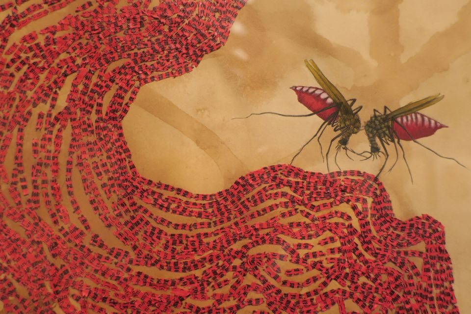 Other common motifs in the show are mosquitos, ladybugs, dragons, and tigers, which play symbolic and complicated roles© Ambreen Butt