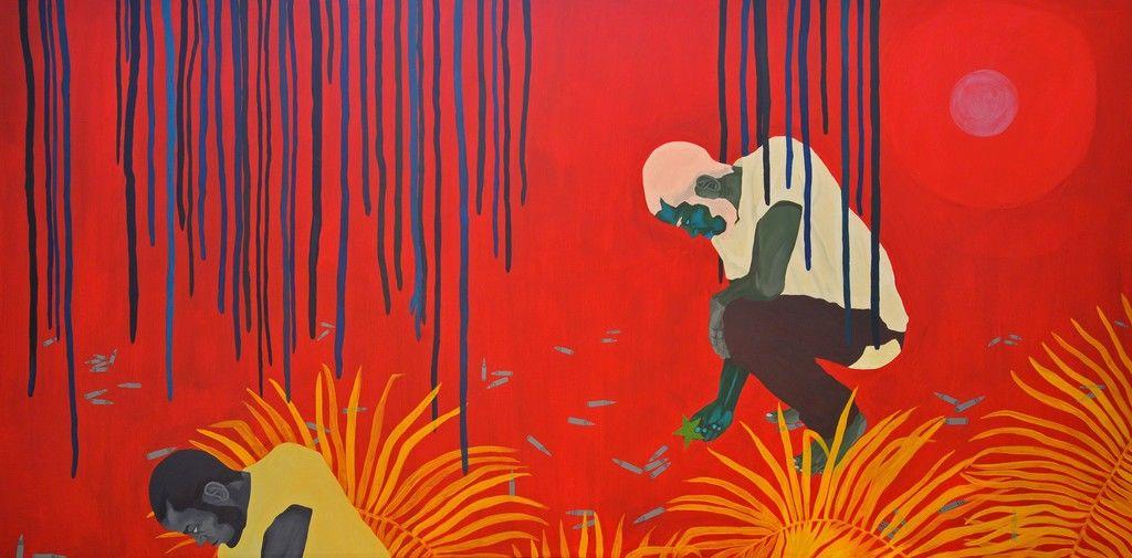 Tessa Mars  Praying for the visa, 2019  Le Centre d'Art d'Haïti