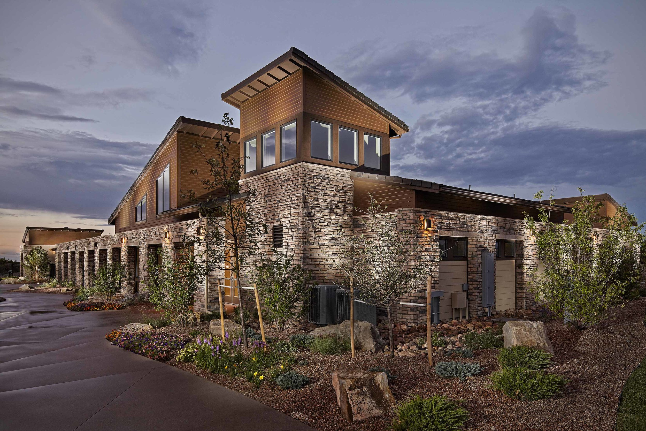 Terrain Swim Club   | Castle Rock, Colorado     AWARDS   +  2014 Gold Nugget  for Best Clubhouse   +   2014 National Gold Award  for Best Community Facility