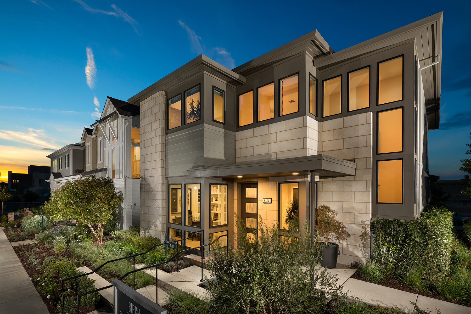 Birch at McKinley Village    | Sacramento, California    AWARDS  +  2017 Northern California MAME Award  for Best Design of a Detached Hom 2,000-2,500 Sq. Ft.  +  2017 Gold Nugget Award of Merit  for Best Single Family Detached Home 2,000-2,499 Sq. Ft.