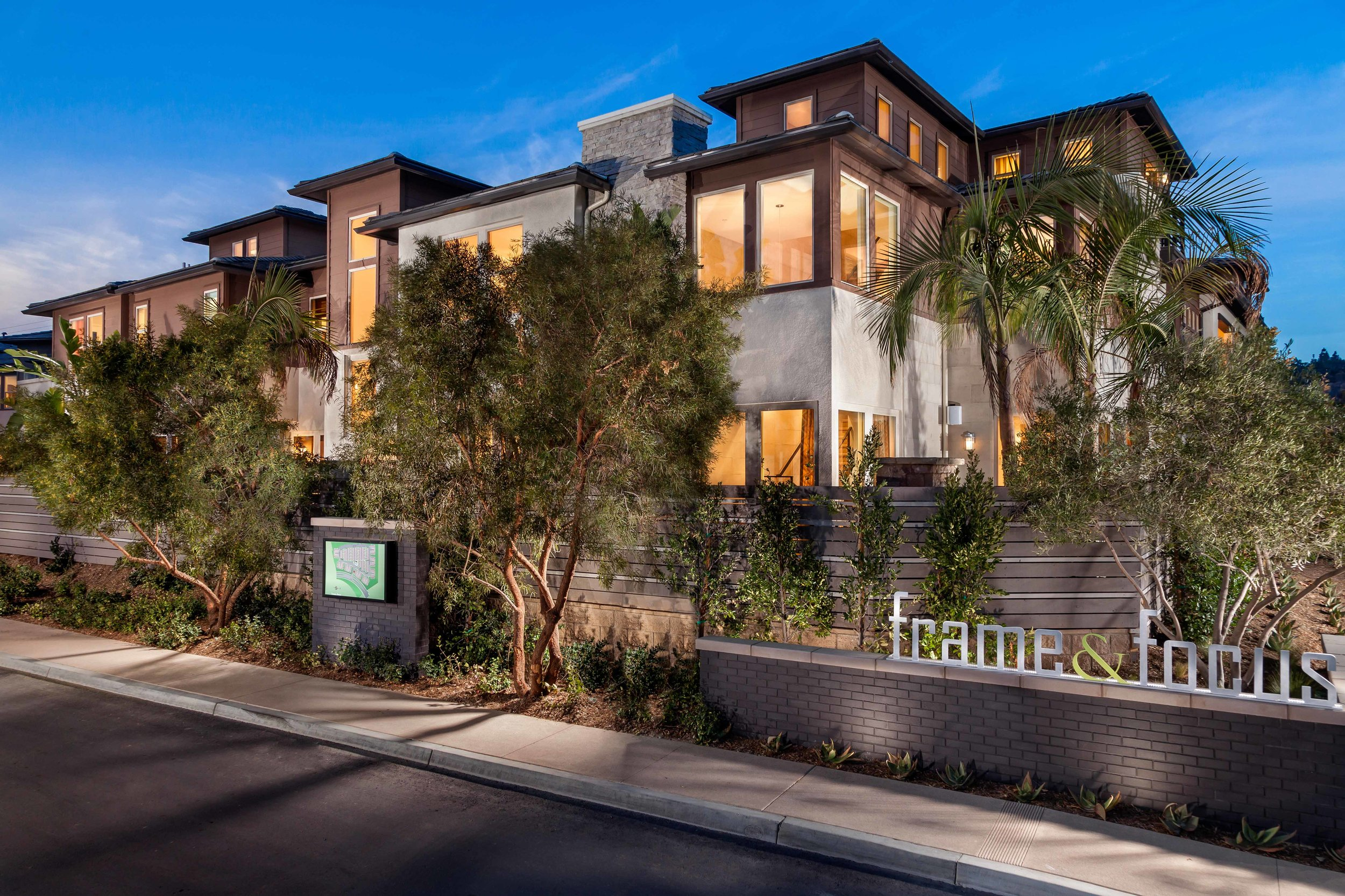 Frame & Focus   | San Diego, California    AWARDS  +  2015 National Gold Award  for Best Architectural Design of an Attached Home Plan