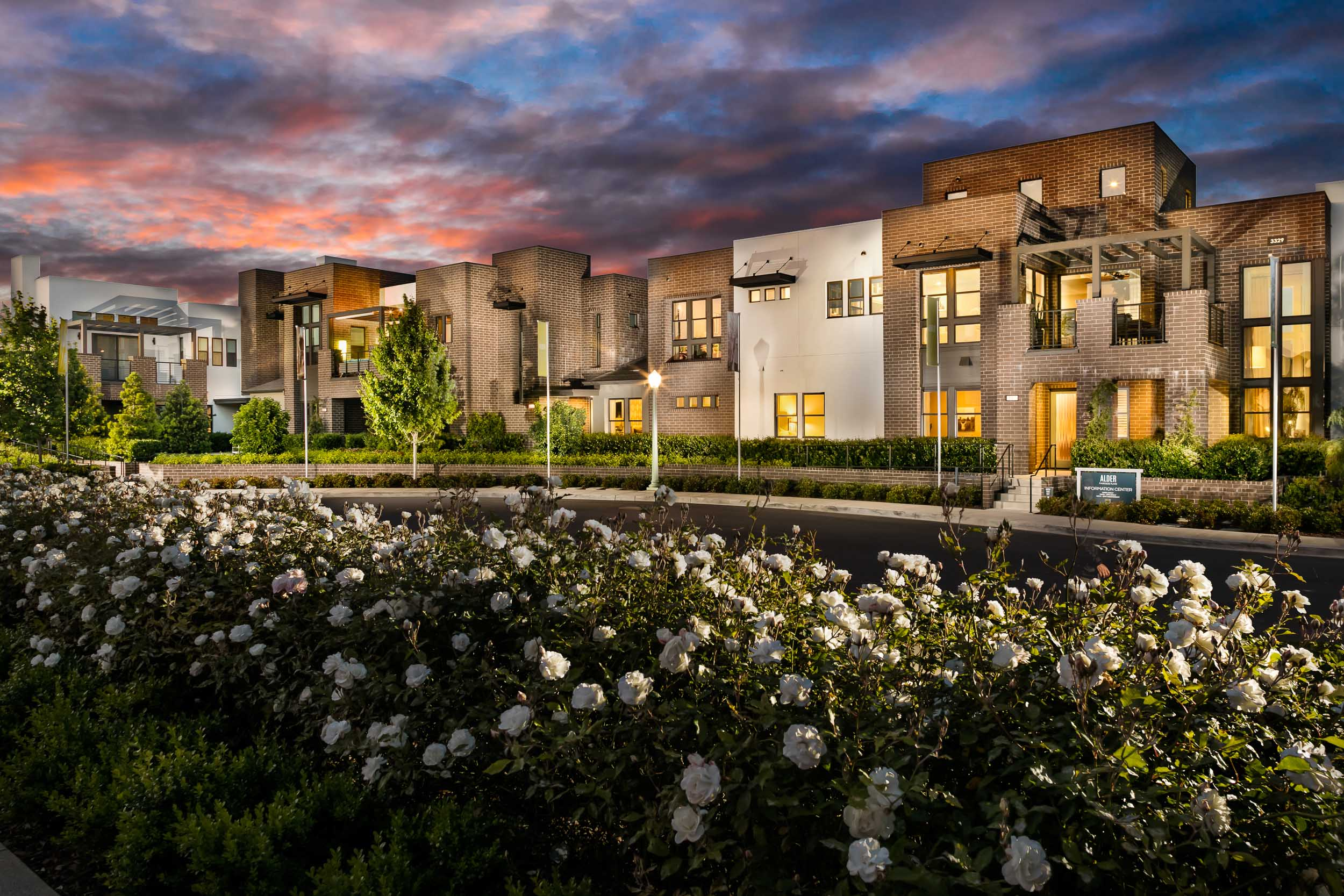 Alder at McKinley Village   | Sacramento, California    AWARDS  +  2018 National Silver Award  for Best Architectural Design of an Attached Community  +  2017 MAME Nor Cal Award  for Attached Community of the Year