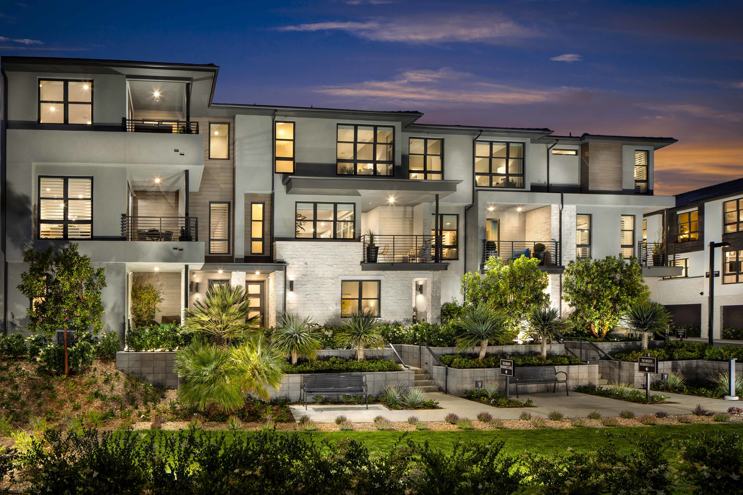 Promontory at Civita     San Diego, California     AWARDS    +   2019 National Gold Award  for Multi-Family Community of the Year  +  2018 Best in American Living Platinum  for Multi-Family Community of the Year  +  2018 SoCal Award  for Attached Community of the Year   + 2018 Icon Award  for  Attached Community of the Year