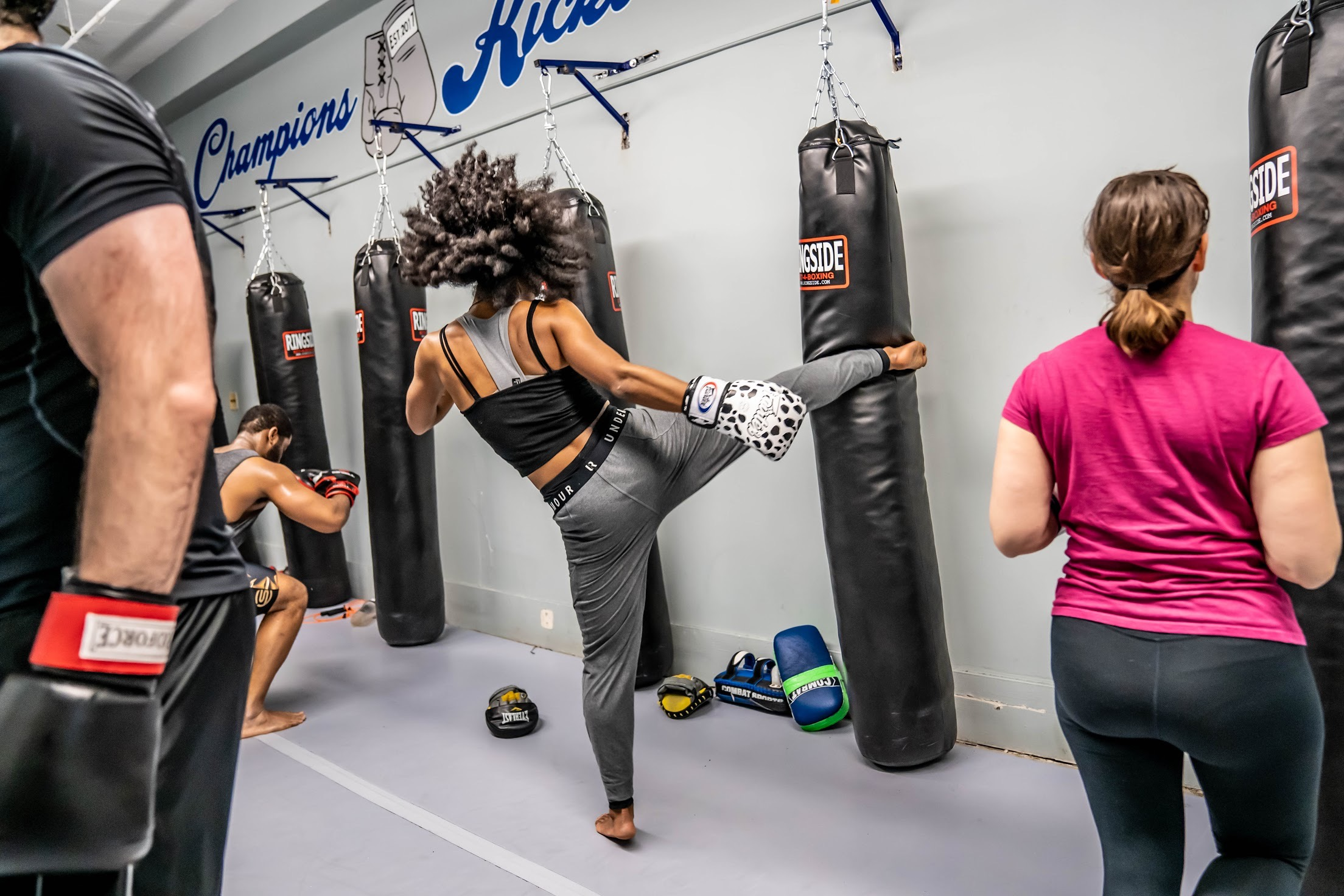 Every Mon-Fri - Kickboxing and Boxing Cardio Classes