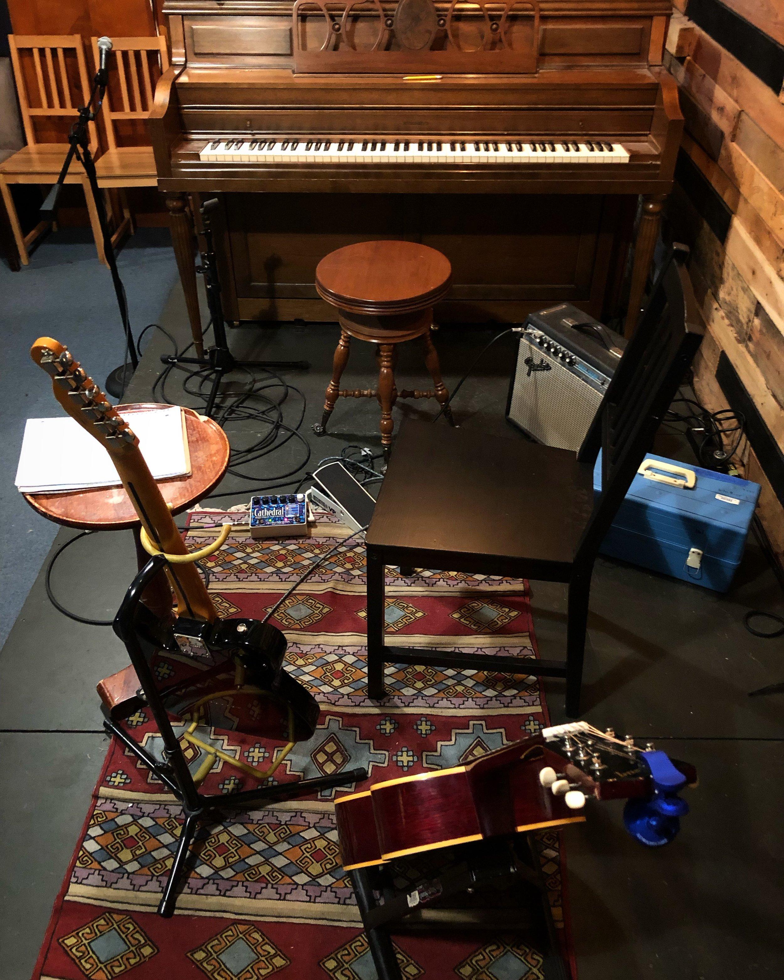 Brianna's instruments