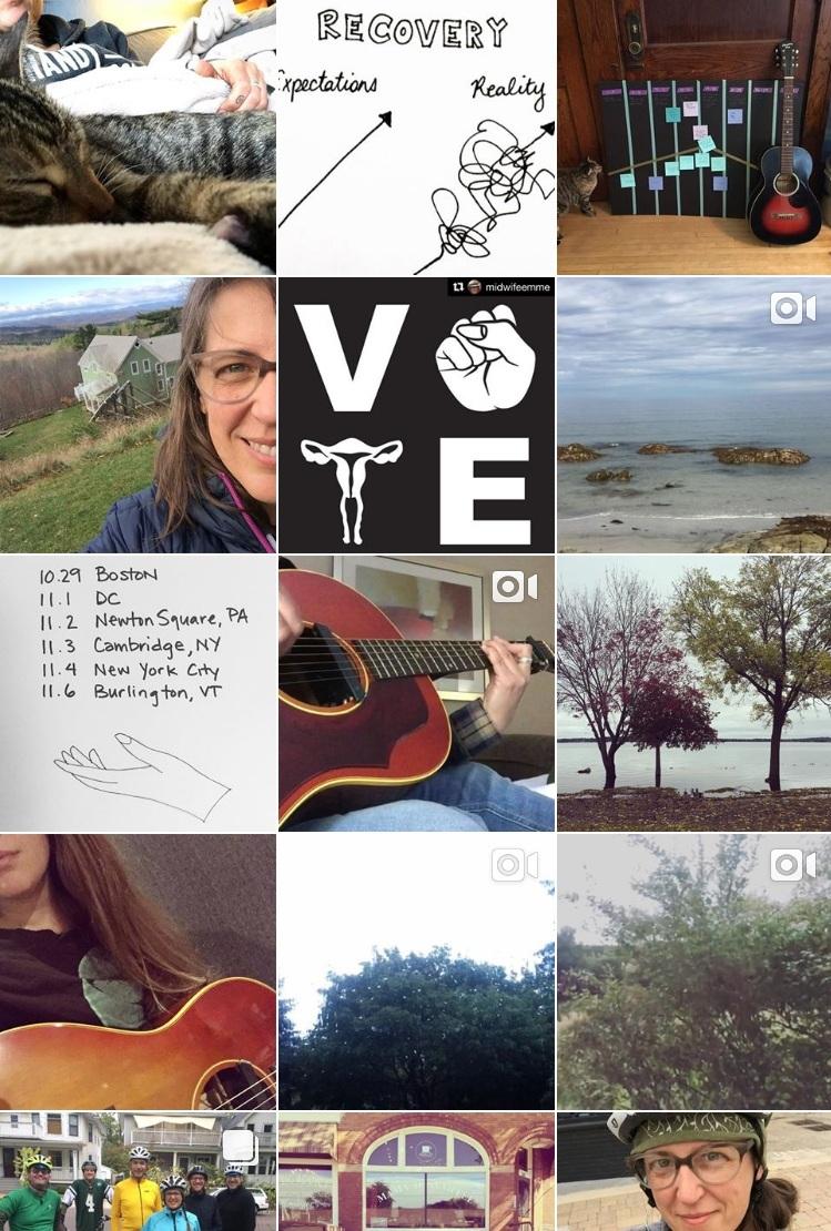 A snapshot of Brianna's Instagram