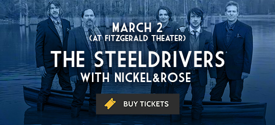 Promotional image for The Steeldriver's March 2 performance at The Cedar