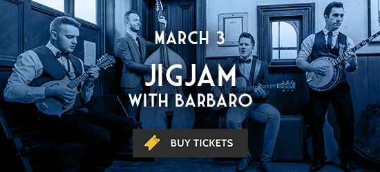 Promotional image for Jigjam's March 3 performance at The Cedar