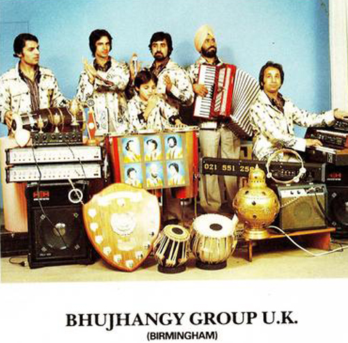 1967 - Bhujhangy Group was founded by brothers Balbir Singh Khanpur and Dalbir Singh Khanpur. They created the first song to combine traditional Asian music with western instruments, which would be followed by further developments of this in bhangra.