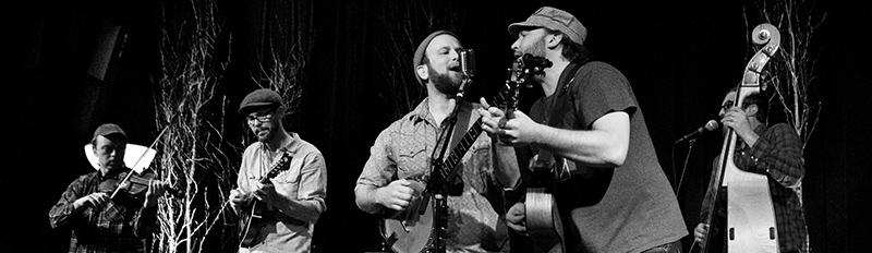 Local bluegrass Band Pert Near Sandstone performing at The Cedar, February 2019. Photo: Pat O'Loughlin.