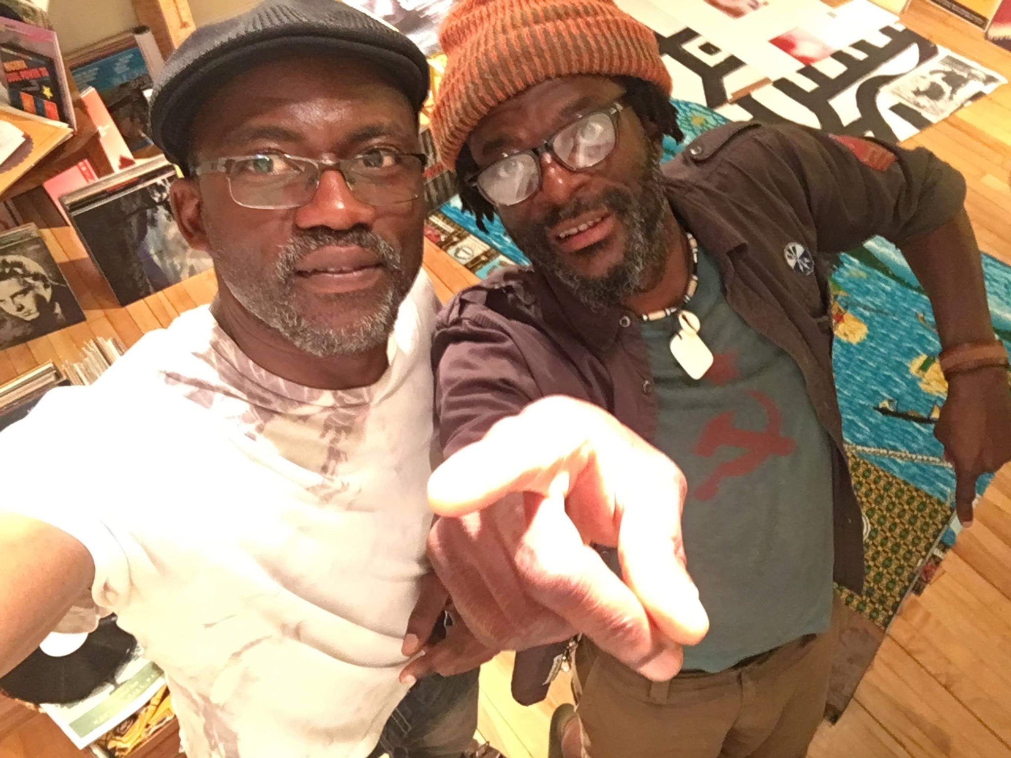 A photo of Jacques and Dumont from Douala Soul Collective