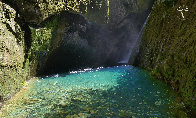 Las fantásticas aguas Esmeraldas de Mordor