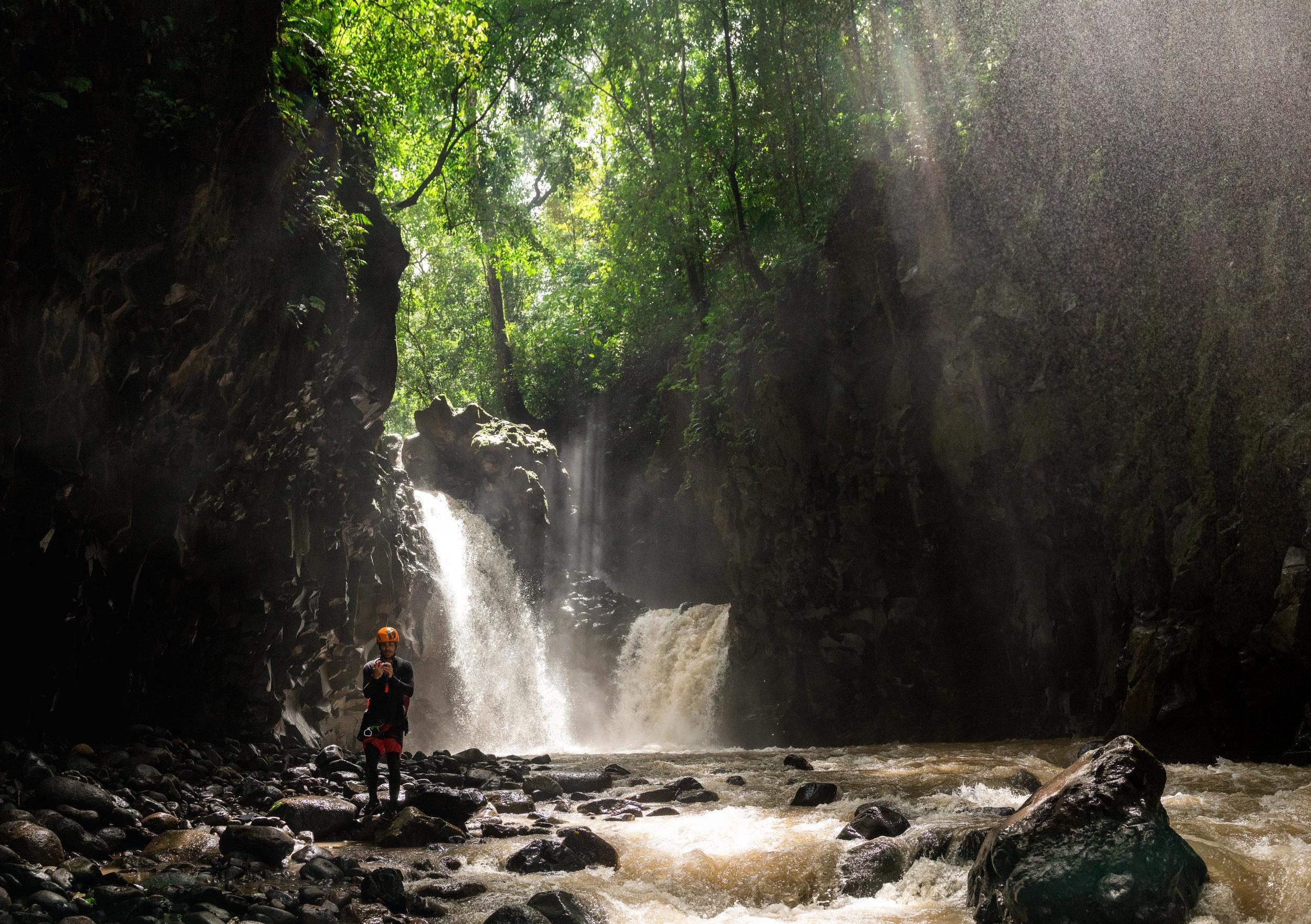 El hermoso Rio Jaris con su R1 de fondo
