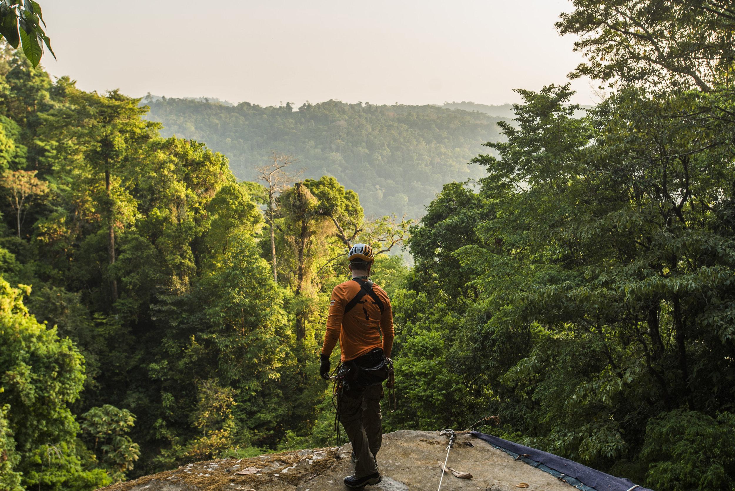 Una de las hermosas vistas a lo largo de la ruta Diamante