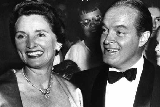 Dolores and bob hope