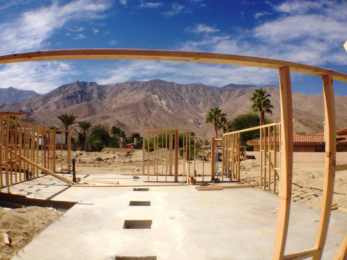 First New Desert Eichler in 40 Years During Construction