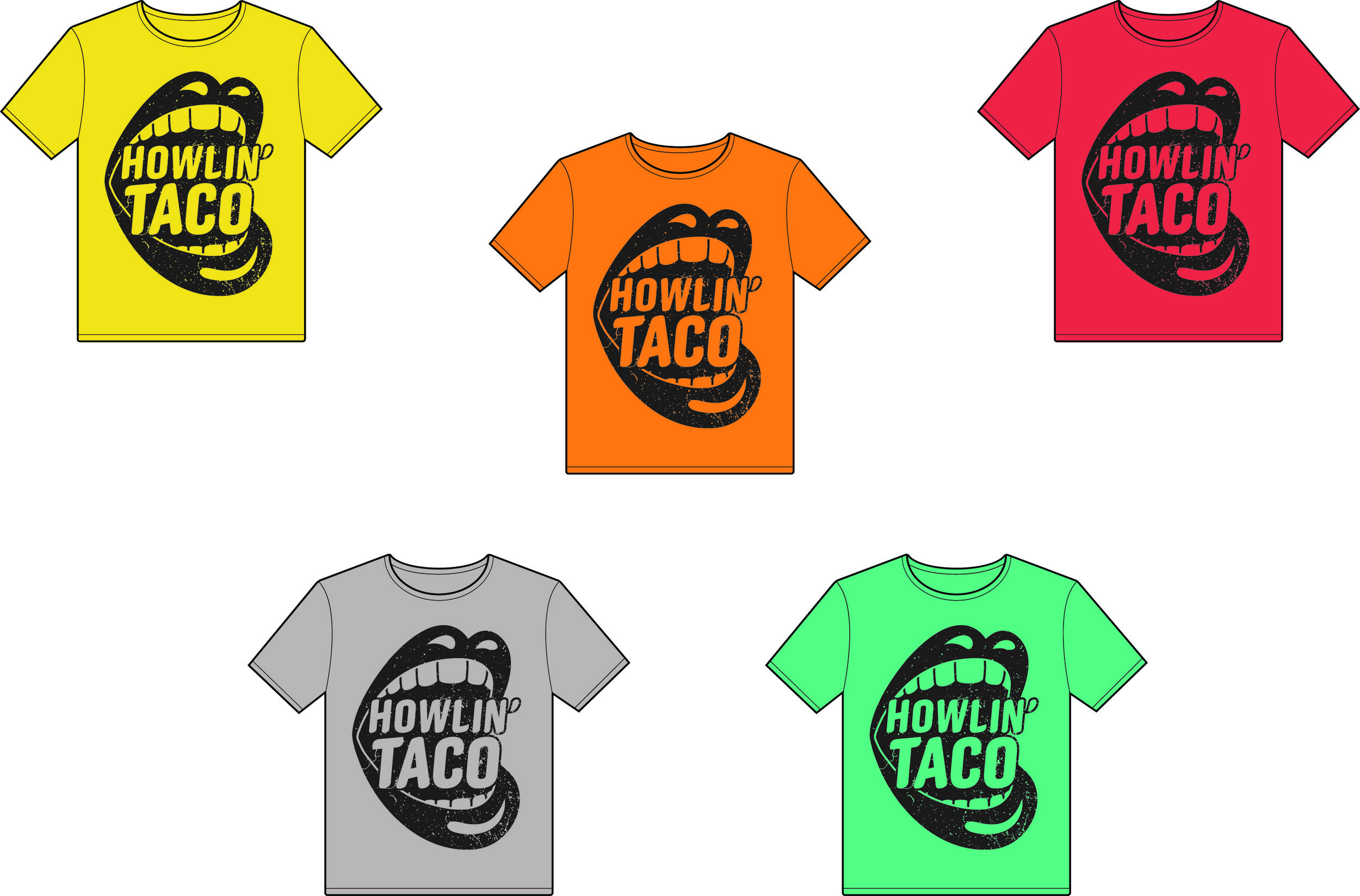 Howlin' t-shirts