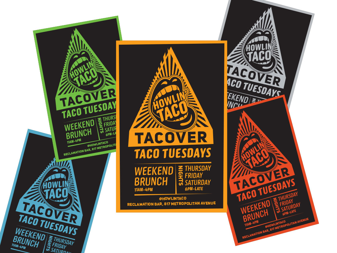 Howlin' Tacover posters