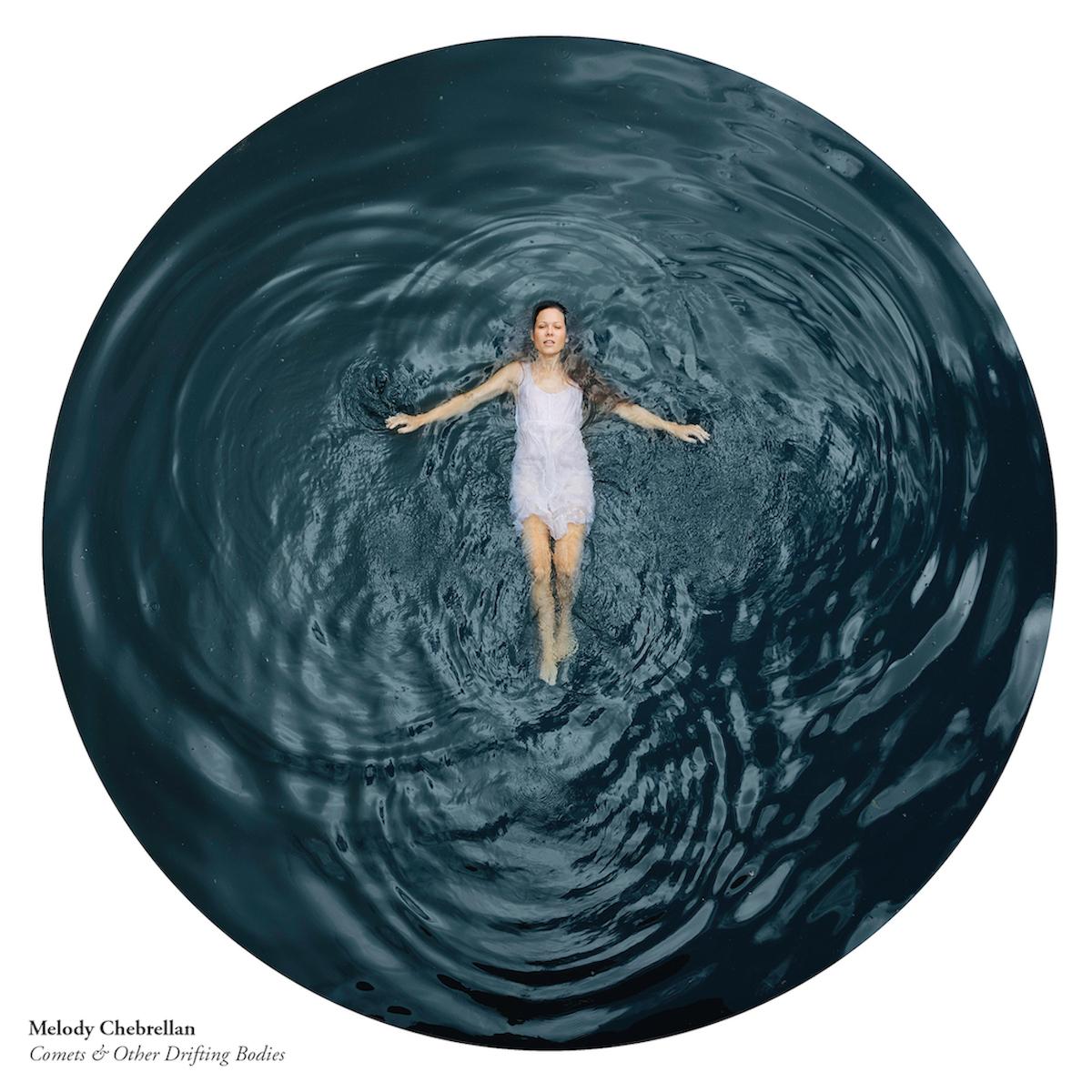 Comets & other drifting bodies Album Cover, Melody Chebrellan, Thomas Allison